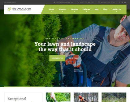 Landscaping Co. Website Design