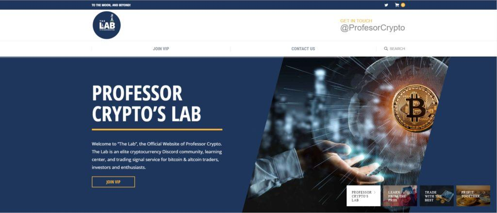 Professor Crypto's Lab┃Helping You Master Cryptocurrency Investing