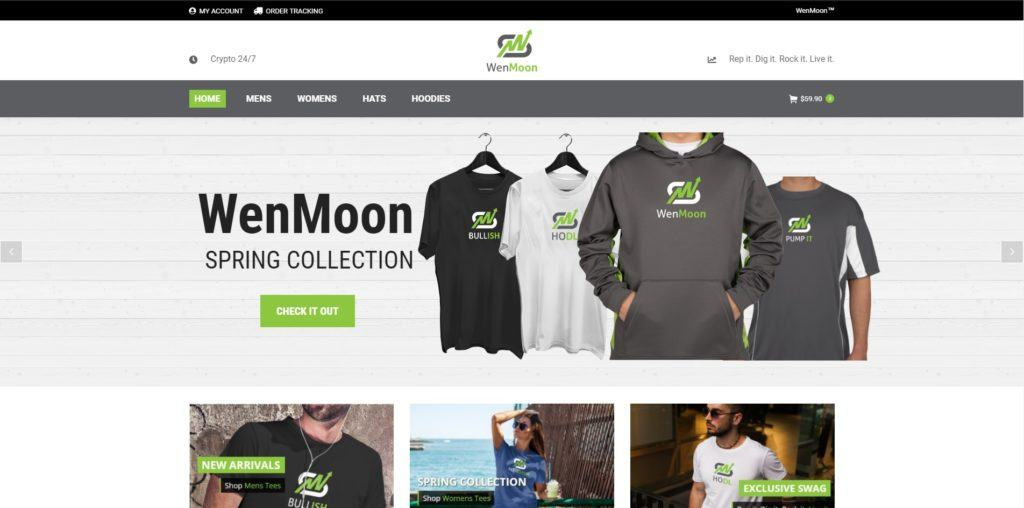 WenMoon™┃Crypto Apparel For The Badasses